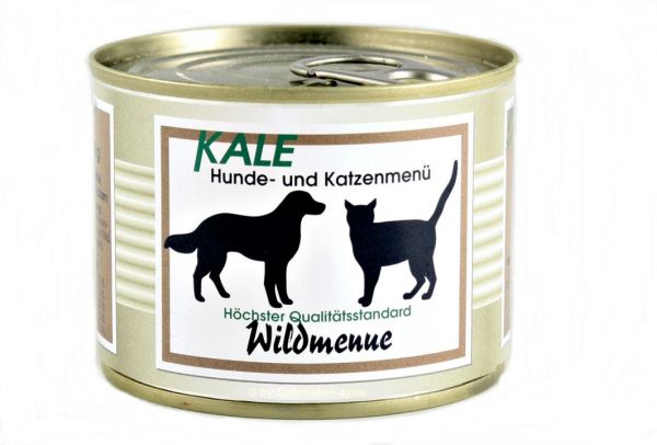 KALE Wildmenü 200g