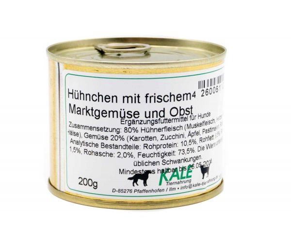 KALE Hühnchen mit frischem Marktgemüse 200 g
