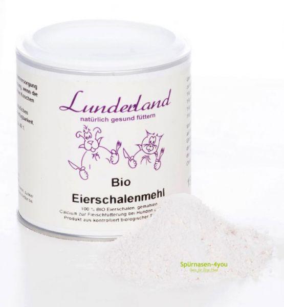 Lunderland Eierschalenmehl | Eierschalenpulver für Hunde