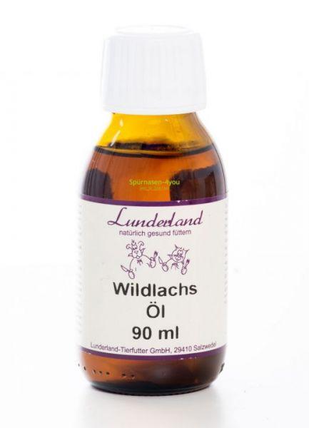 Lunderland Wildlachsöl 90 ml für Hunde