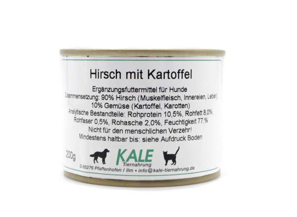 KALE Hirsch mit Kartoffeln 200 g