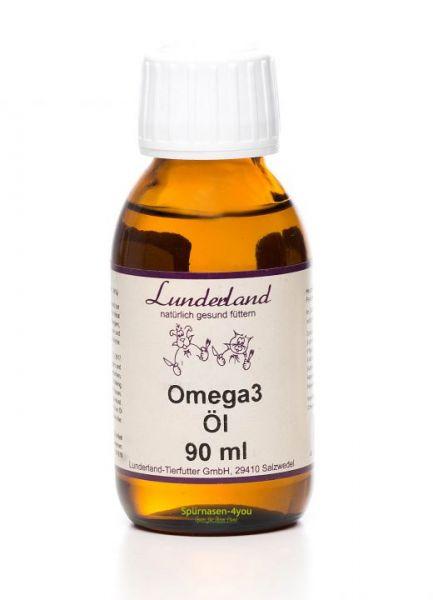 Lunderland Omega 3 Öl   Omega 3 Öl im Hundeshop Spürnasen-4you kaufen