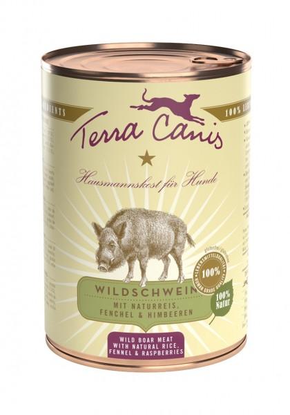 Terra Canis Wildschwein, classic, mit Naturreis, Fenchel und Himbeeren